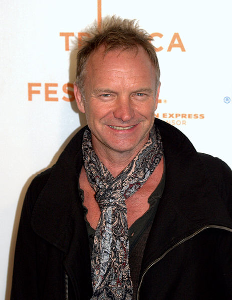Image Source: http://commons.wikimedia.org/wiki/File:Sting_2009_portrait.jpg